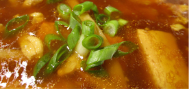 Chicken hot & Sour soup